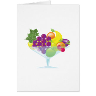 Fruit Cocktail Card