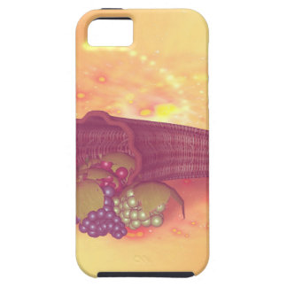 Fruit, cornucopia with grapes in vintage iPhone 5 covers