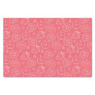 Fruit Cut in Half Pattern Tissue Paper