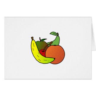 fruit design card