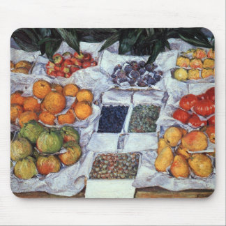 Fruit Displayed on a Stand Mouse Pad