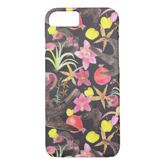 Fruit Flowers and Fowl iPhone 7 case