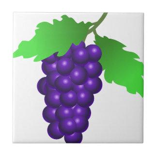Fruit Grapes Vine Sweet Dessert Destiny Food Ceramic Tile