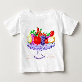 Fruit in Vase Art Baby T-Shirt