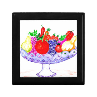 Fruit in Vase Art Gift Box