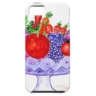 Fruit in Vase Art iPhone 5 Case
