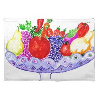 Fruit in Vase Art Placemat