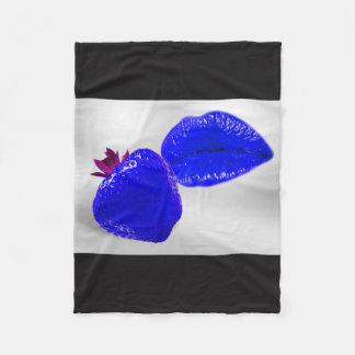 Fruit KIS mills blue Fleece Blanket