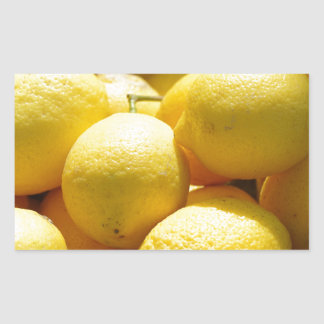 Fruit: Lemons Rectangular Sticker