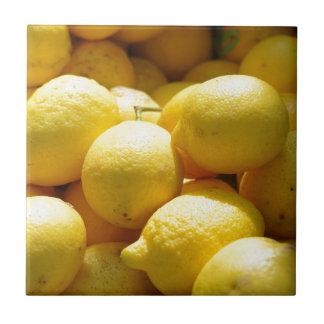 Fruit Lemons Tiles
