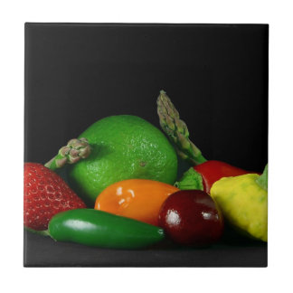 Fruit Medley Small Square Tile
