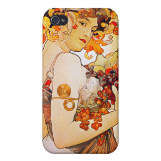Fruit, Mucha Case For The iPhone 4