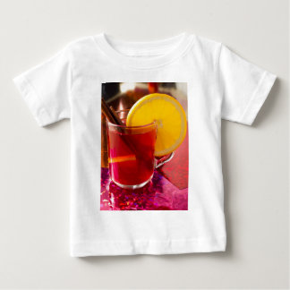 Fruit mulled wine with cinnamon and orange baby T-Shirt