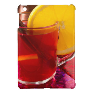Fruit mulled wine with cinnamon and orange iPad mini case