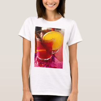 Fruit mulled wine with cinnamon and orange T-Shirt