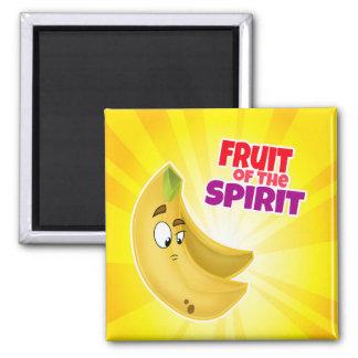 fruit of the spirit banana magnet