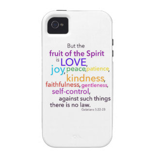 Fruit of the Spirit Vibe iPhone 4 Cases
