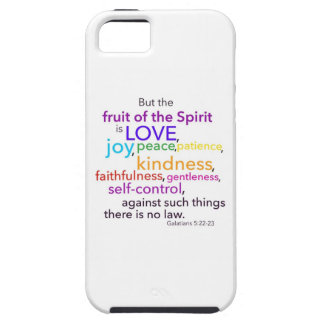 Fruit of the Spirit iPhone 5 Covers