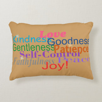 Fruit of the Spirit Decorative Cushion