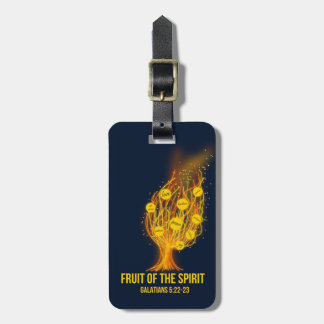 Fruit of the Spirit - Galatians 5:22-23 Luggage Tag