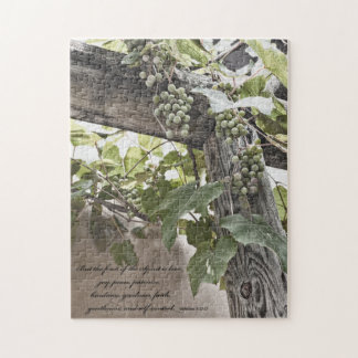 Fruit of the spirit jig saw puzzle