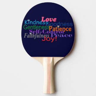 Fruit of the Spirit Ping Pong Paddle