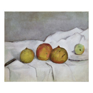 Fruit on a Cloth, c.1890 Print