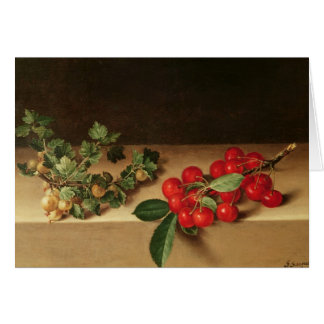 Fruit on the Table, 1644 Card