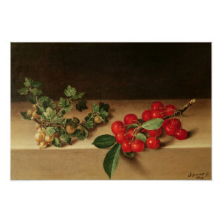 Fruit on the Table, 1644 Posters