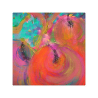 Fruit Painting Canvas Print