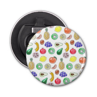 Fruit pattern bottle opener