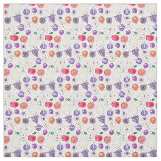 Fruit pattern fabric