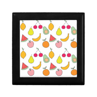 fruit pattern gift box