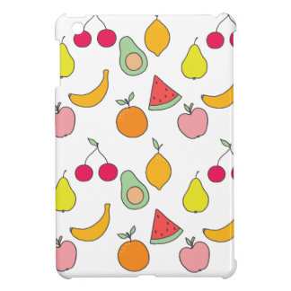 fruit pattern iPad mini cover
