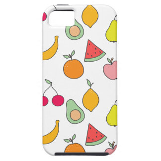 fruit pattern iPhone 5 case