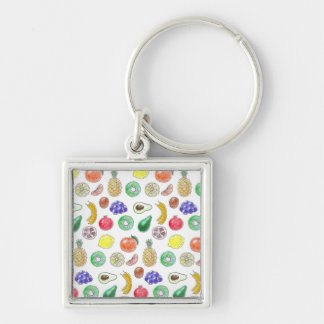 Fruit pattern key ring