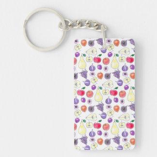 Fruit pattern key ring