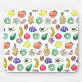 Fruit pattern mouse pad