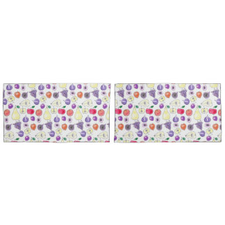 Fruit pattern pillowcase