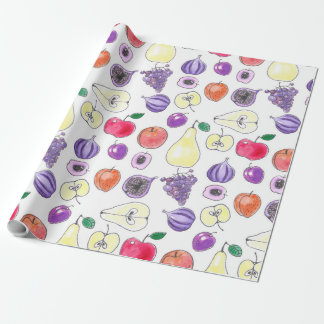 Fruit pattern wrapping paper