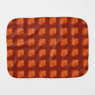 Fruit Patterns Blood Orange Gifts Burp Cloth