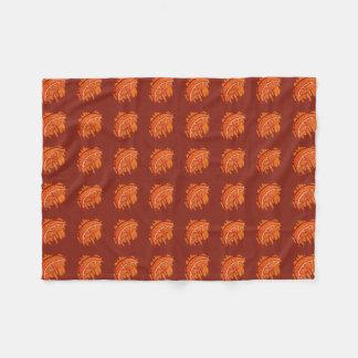 Fruit Patterns Blood Orange Gifts Fleece Blanket