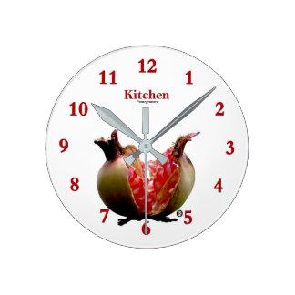 Fruit Pomegranate Modern Wall Clock Gift .....!!!