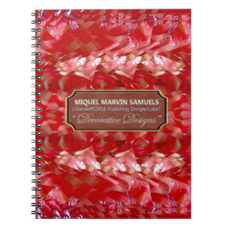 Fruit Punch Decorative Nature Modern Notebook