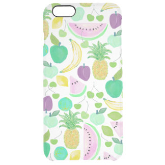 Fruit Punch Retro 2 Clear iPhone 6 Plus Case