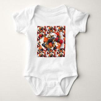Fruit Salad Foods Chef Healthy Eating Cuisine Art Baby Bodysuit