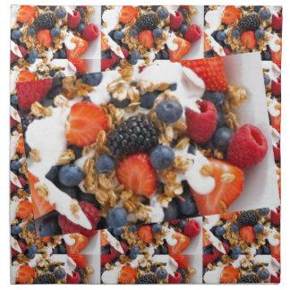 Fruit Salad Foods Chef Healthy Eating Cuisine Art Printed Napkin