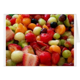 fruit salad medley card