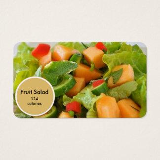 fruit salad nutritionist business card