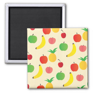 Fruit Salad Pattern Refrigerator Magnet